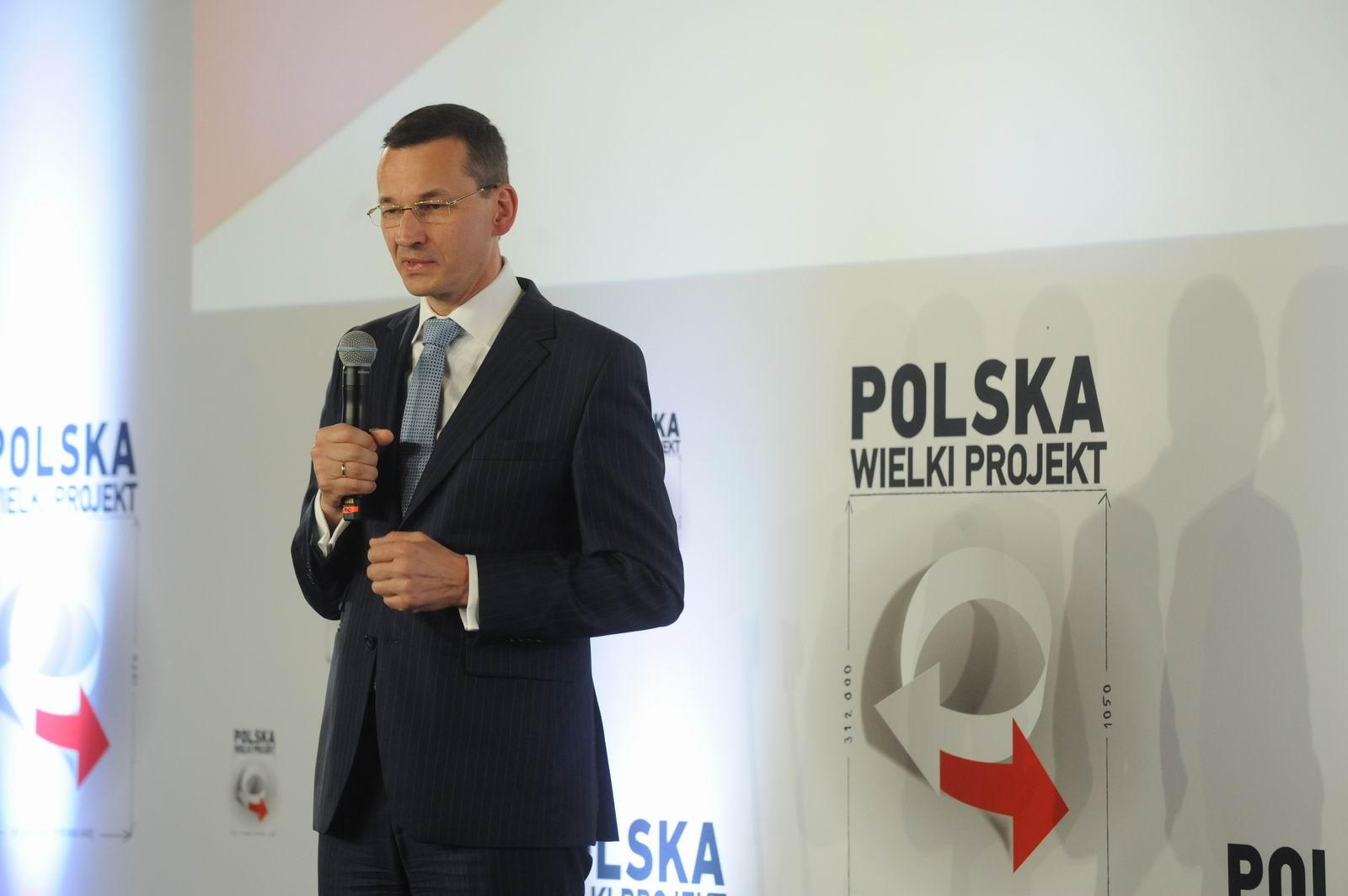 Wystąpienie wstępne wicepremiera Morawieckiego