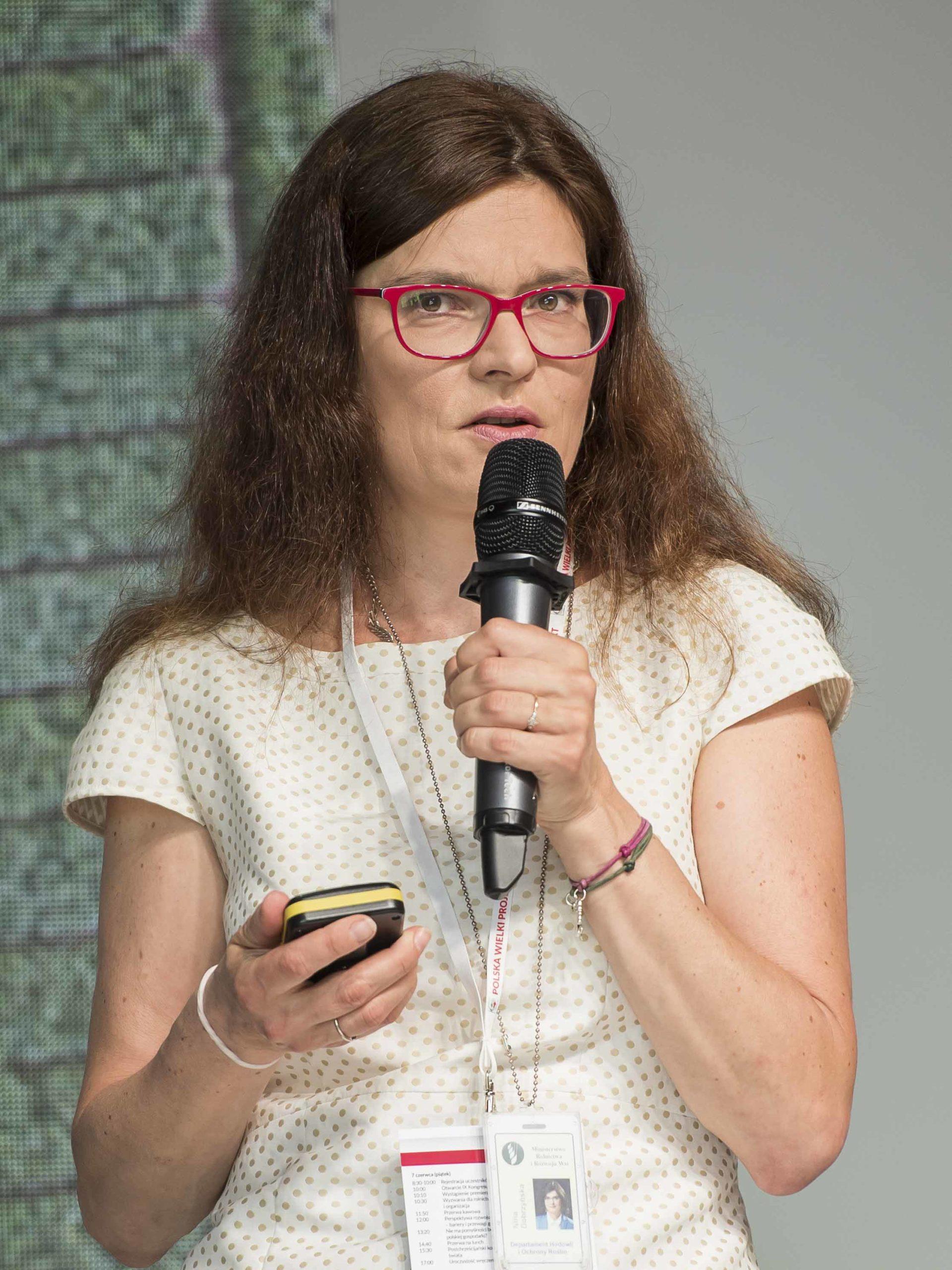 Nina Dobrzyńska, Kongres Polska wielki Projekt