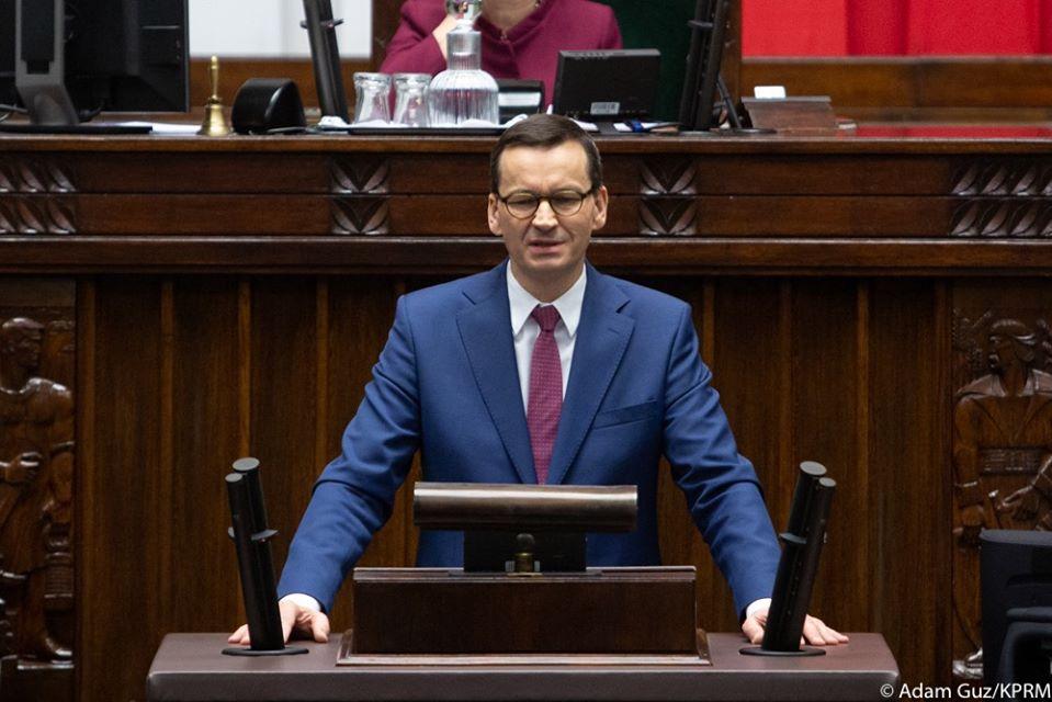Wystąpienie Premiera Mateusza Morawieckiego