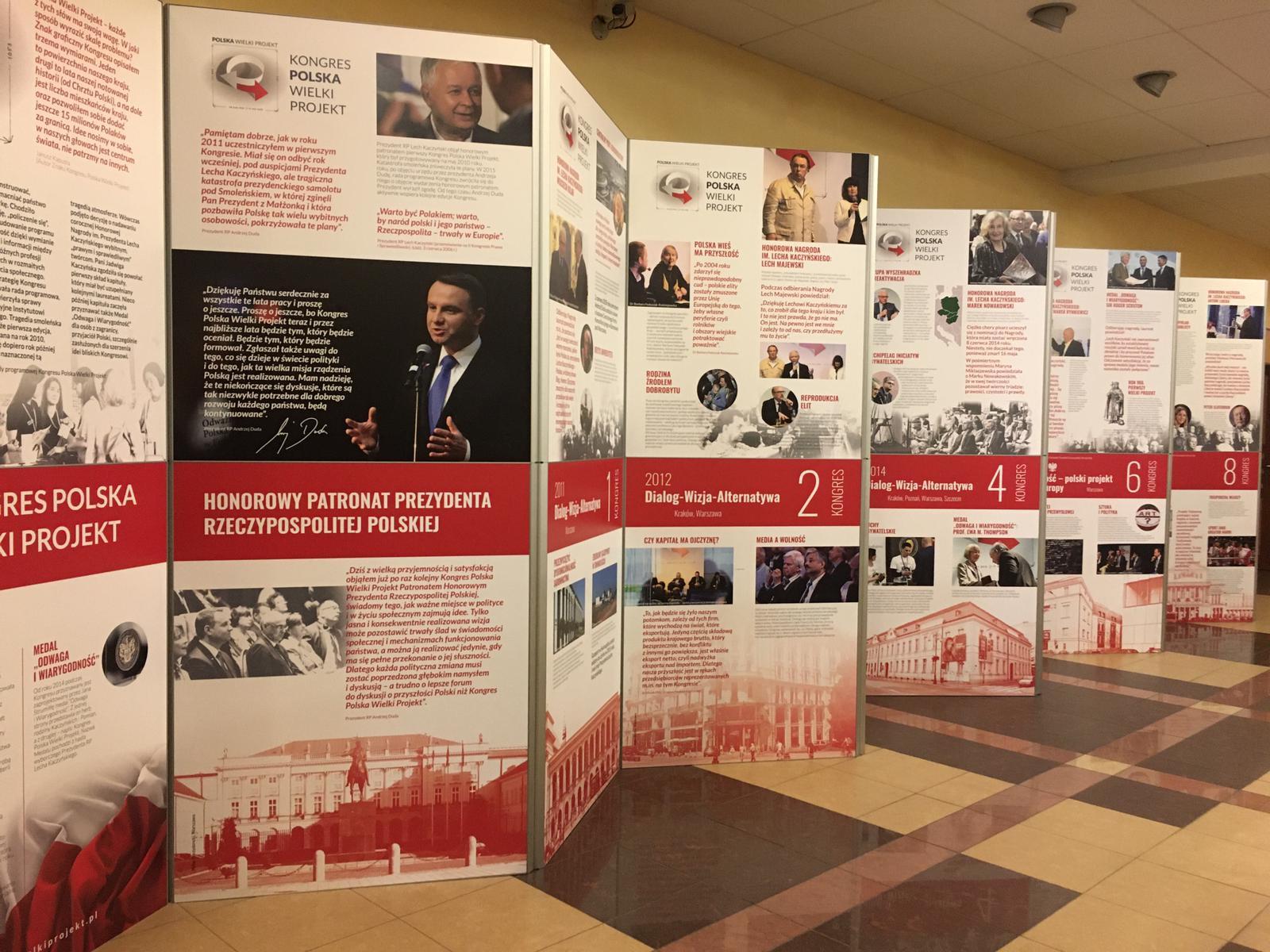 Wystawa Kongres Polska Wielki Projekt 2011-2019