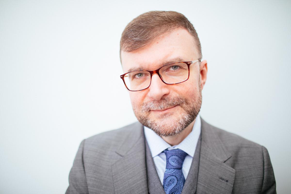 Jacek Dukaj; Fot. Albert Zawada