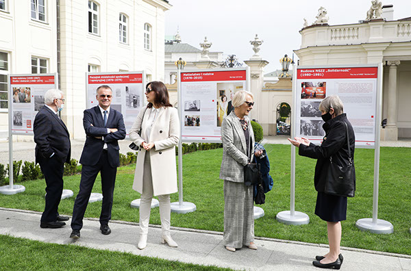 """Wystawa """"Lech Kaczyński. Człowiek Solidarności (1949–2010)"""""""