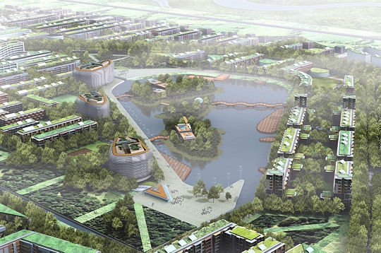 """Dongtan Eco city"" by Tourist Republic is licensed under CC BY-NC-SA 2.0"