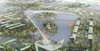 """""""Dongtan Eco city"""" by Tourist Republic is licensed under CC BY-NC-SA 2.0"""